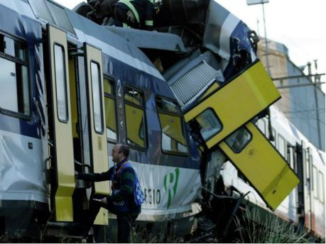 В Швейцарії зіткнулися два потяга