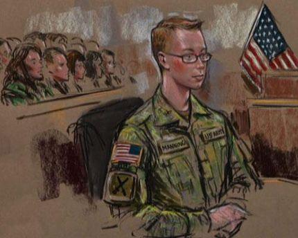 Суд над информатором Wikileaks