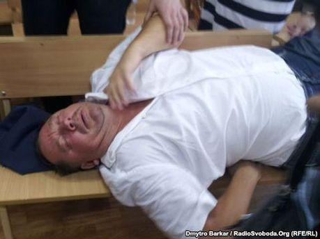 Петр Мельник на суде