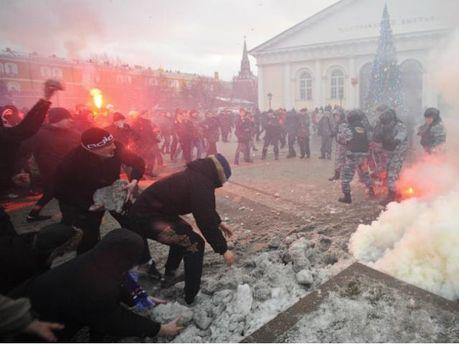 Беспорядки на Манежной площади, 2010 год