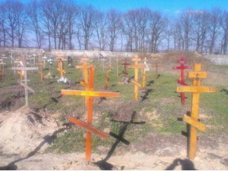 Біля Києва знайшли десятки підозрілих безіменних могил (Фото)
