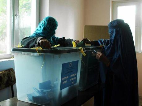 Виборы в Афганистане
