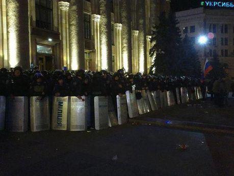 Міліція під Харківською ОДА