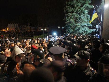 Столкновения в Николаеве