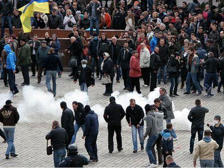 Противостояние в Харькове