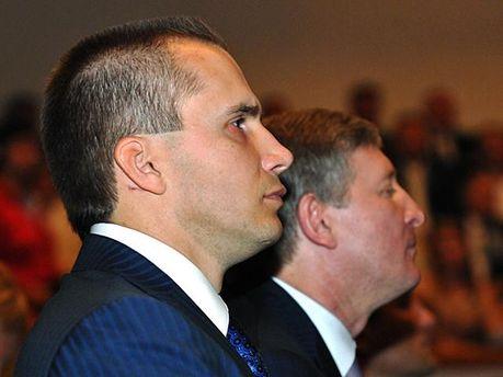 Янукович и Ахметов