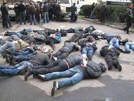 Задержанные в Харькове