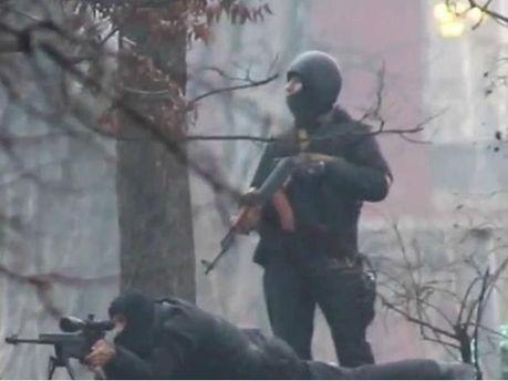 Снайперы на Майдане