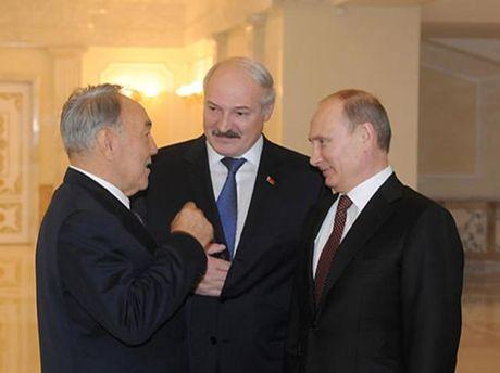 Назарбаєв, Лукашенко і Путін