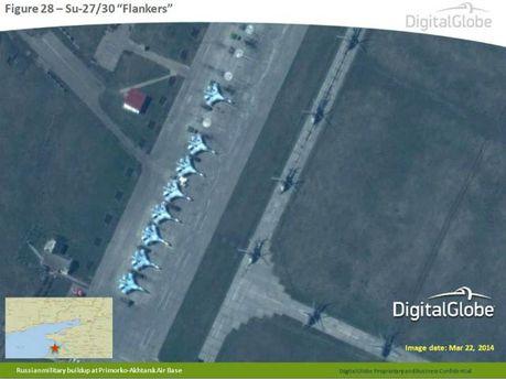 НАТО представило фото, где видно, как Россия усиливает армию на границе с Украиной