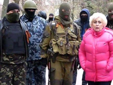 Мер Слов'янська Неля Штепа з диверсантами