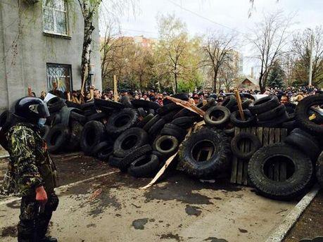 Противостояние в Славянске