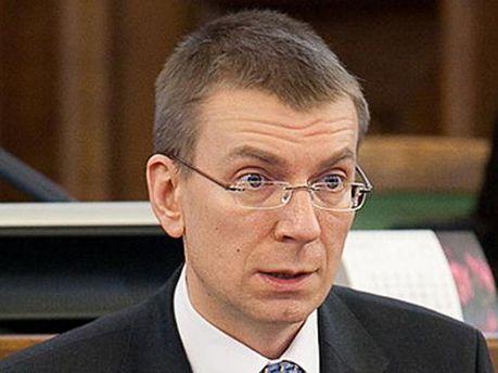 Глава МЗС Латвії Едгарс Ринкевич