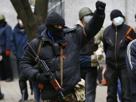 Сепаратисти у Донецьку