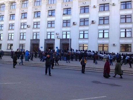 Будівля Луганської ОДА
