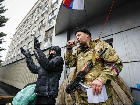 В Ждановке сепаратисты захватили горсовет