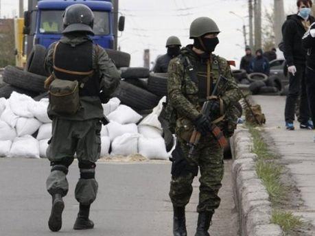 Российские диверсанты на Востоке Украины