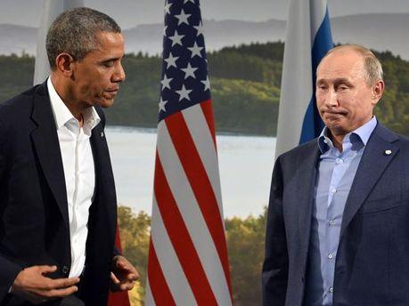 Барак Обама и Володимир Путин