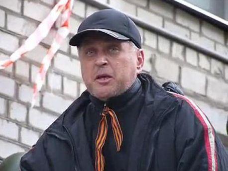 Самопровозглашенный мэр Славянска Вячеслав Пономарев