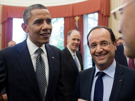 Олланд и Обама