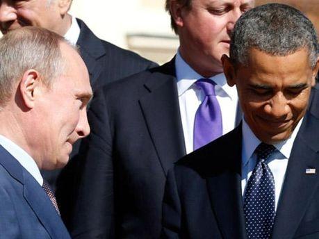 Путін і Обама