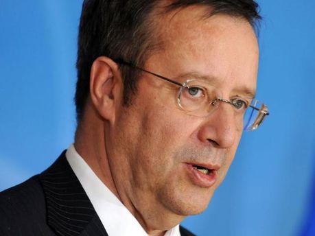 Президент Естонії Тоомас Хендрік Ільвес