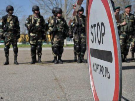 Украинские пограничники привлечены к антитеррористической операции в восточных регионах