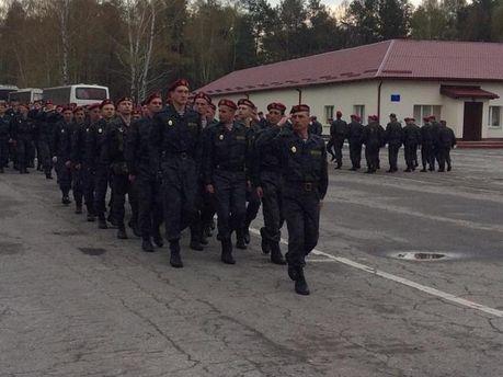 Бойцы Нацгвардии