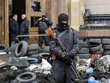 Сепаратист у Слов'янську