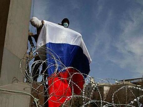 Сепаратисти у Луганську