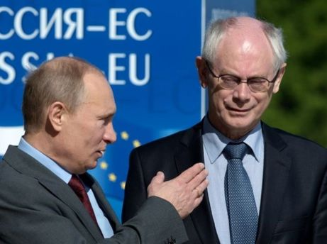 Владимир Путин и Герман Ван Ромпей
