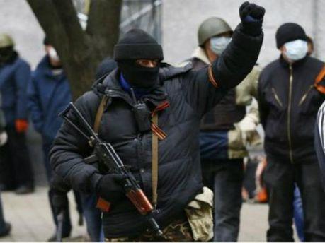 Сепаратисты в Славянску