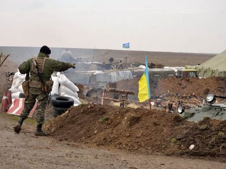 Украинские десантники открыли огонь