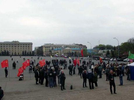 Мітинг за Росію у Харкові