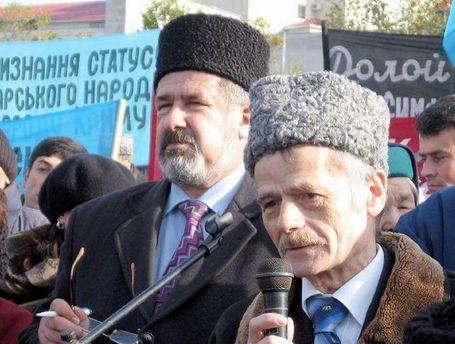 Рефат Чубаров і Мустафа Джемілєв