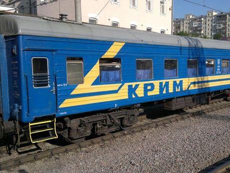 Вагон поїзда