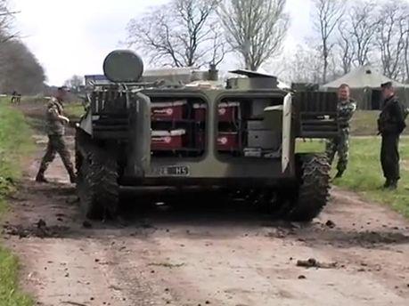 Військова частина в Гуляй-польському районі