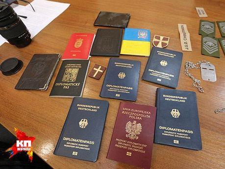 Документи заручників від ОБСЄ