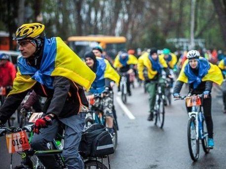 Велопробег в Одессе