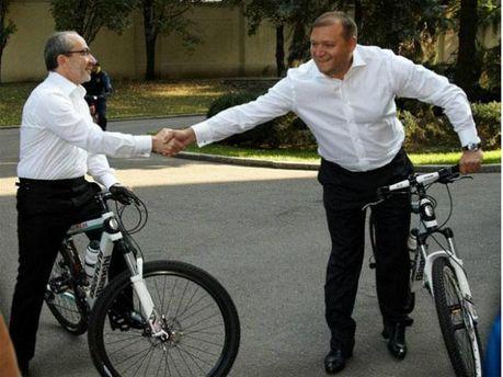 Геннадій Кернес та Михайло Добкін