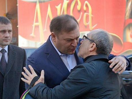 Геннадий Кернес и Михаил Добкин