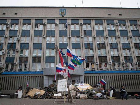 Барикади сепаратистів у Луганську