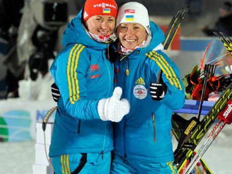 Валя и Вита Семеренко