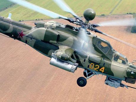 Российский военный вертолет