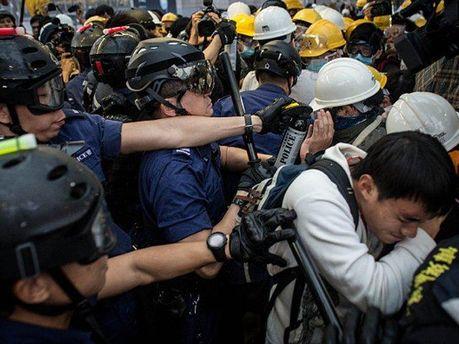 Противостояние в Гонконге