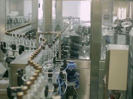 На водочном заводе