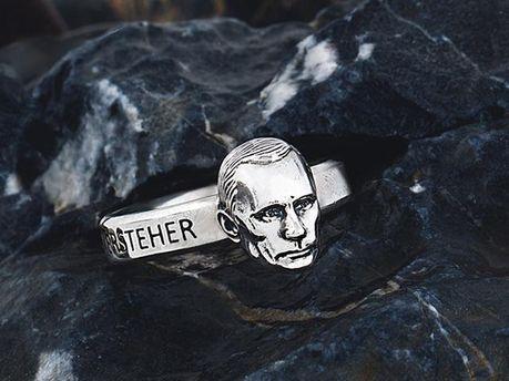 Кольцо с изображением Путина