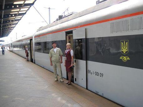 Украинский поезд