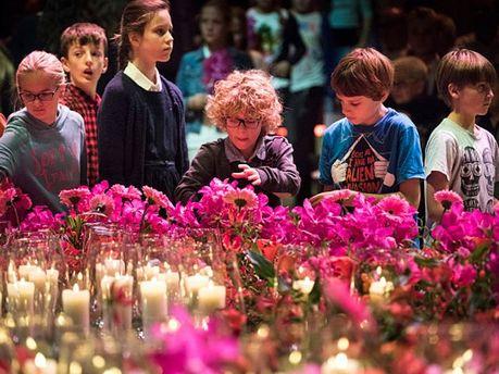 Вшанування жертв збитого Boeing 777