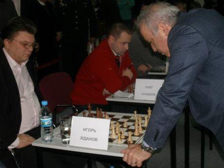 Гаррі Каспаров та Ігор Жданов